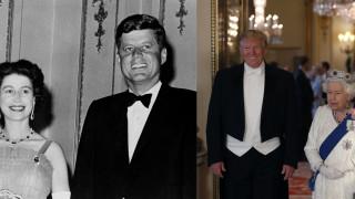 Ελισάβετ: Από τον Κένεντι στον Τράμπ - Δύο εικόνες, εξήντα χρόνια ιστορίας