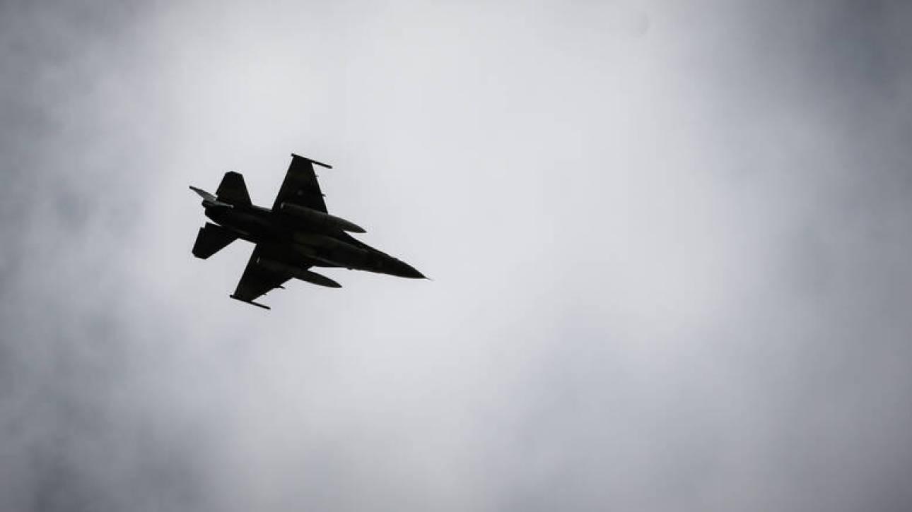 Νέα τουρκική πρόκληση: F-16 πέταξε πάνω από το Αγαθονήσι