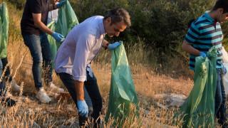 Μητσοτάκης για περιβάλλον: Δεν μας ανήκει, είμαστε οι θεματοφύλακές του