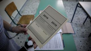 Πανελλήνιες εξετάσεις 2019: Οι απαντήσεις στη Νεολληνική Γλώσσα - Έκθεση για τα ΕΠΑΛ
