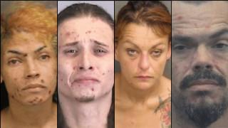 Απίστευτες φωτογραφίες: Πώς άλλαξαν τα πρόσωπά τους μετά από χρόνια χρήσης ναρκωτικών ουσιών