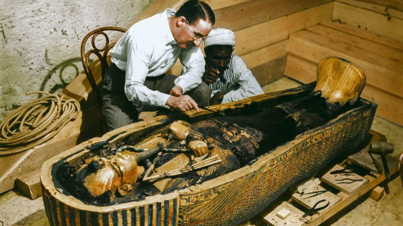 Η ανακάλυψη του τάφου του Τουταγχαμών ξαναζωντανεύει με… χρώμα