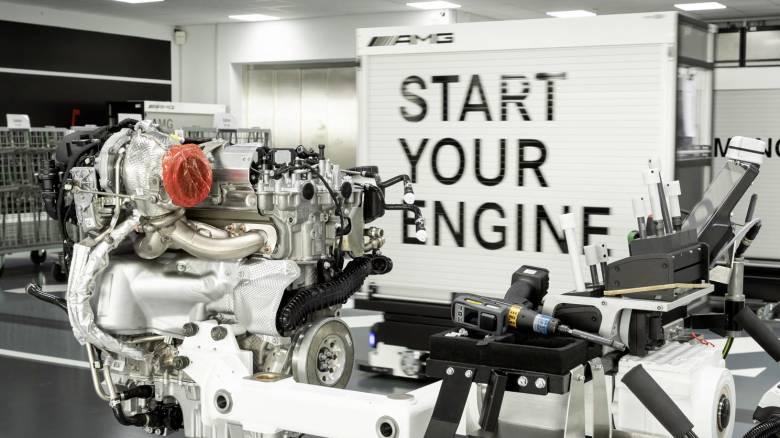 Στον κόσμο δεν υπάρχει πιο δυνατός κινητήρας 2.000 κυβικών από τον Μ139 της AMG των 421 ίππων!