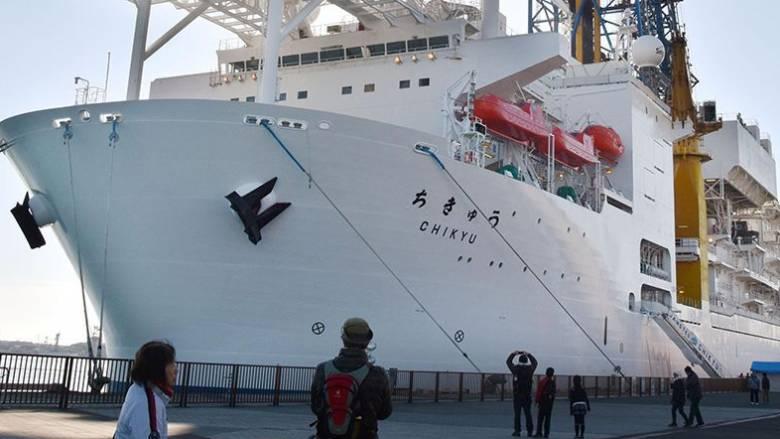 Ρεκόρ γεώτρησης από ιαπωνικό πλοίο - Απέτυχε να φθάσει στη ζώνη γέννησης των καταστροφικών σεισμών