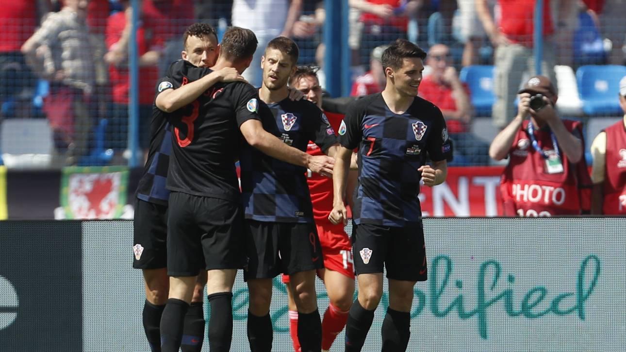 Προκριματικά EURO 2020: Δυσκολεύτηκε η Κροατία