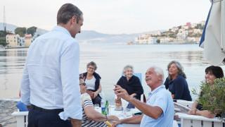 Μητσοτάκης: Θα υπερασπιστούμε τα δικαιώματα του Καστελόριζου από κάθε αμφισβήτηση και πρόκληση
