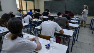 Πανελλήνιες εξετάσεις 2019: Σε αρχαία ελληνικά και μαθηματικά εξετάζονται οι υποψήφιοι των ΓΕΛ