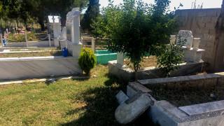 Εικόνες φρίκης στο νεκροταφείο Σχιστού
