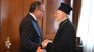 Επίσκεψη Κουμουτσάκου στο Οικουμενικό Πατριαρχείο