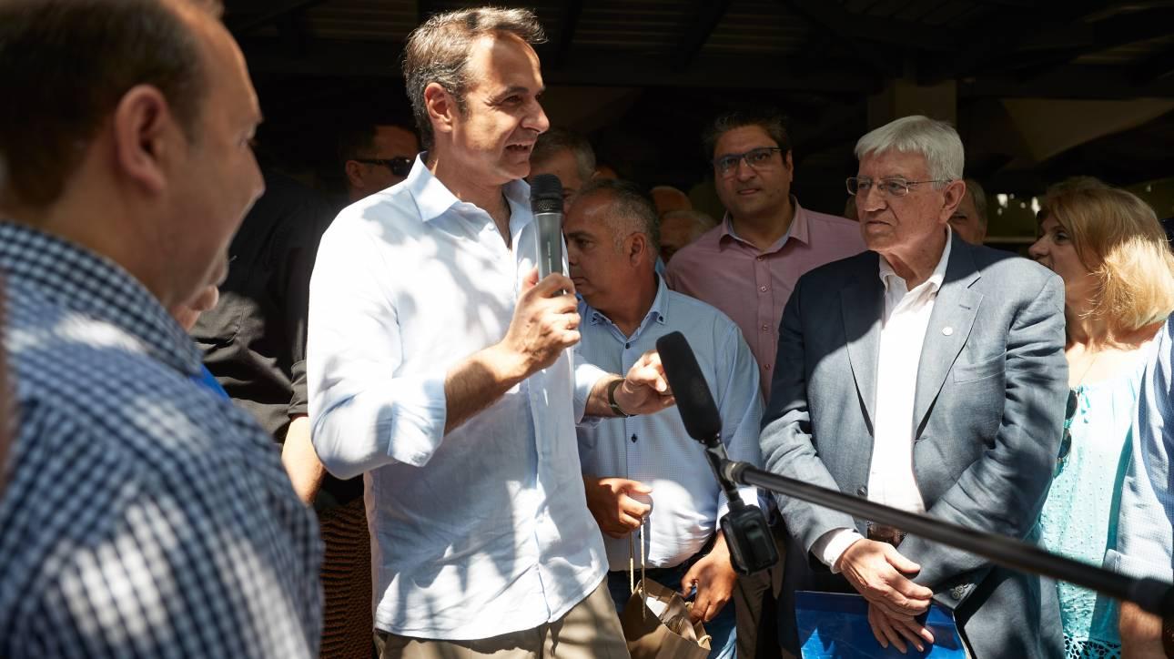 Μητσοτάκης: Η ΝΔ ήταν, είναι και θα παραμείνει το μεγάλο λαϊκό κόμμα της χώρας
