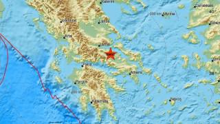 Σεισμός στην Αταλάντη - Αισθητός σε πολλές περιοχές