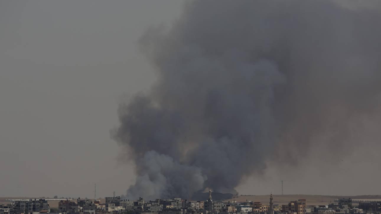Λωρίδα της Γάζας: Αεροπορική επιδρομή κατά θέσης της Χαμάς από το Ισραήλ