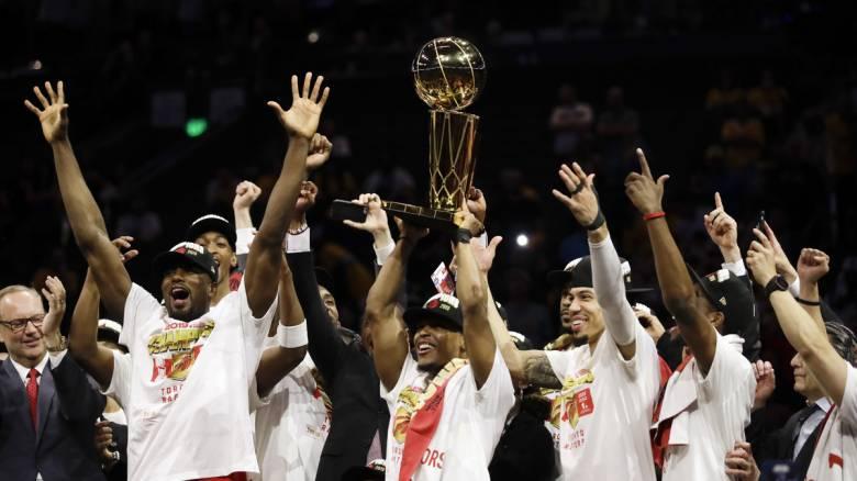 ΝΒΑ: Οι Ράπτορς κατέκτησαν το πρώτο τους πρωτάθλημα