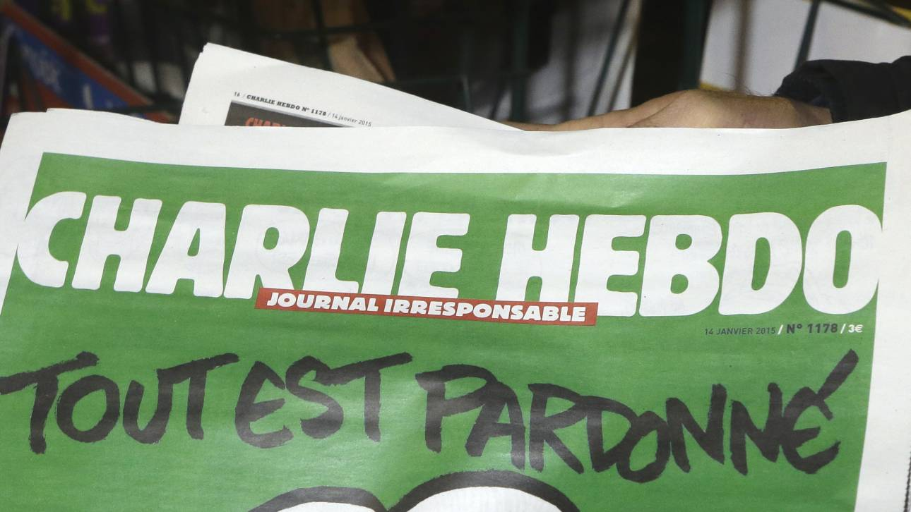 Σάλος με νέο αμφιλεγόμενο εξώφυλλο του Charlie Hebdo