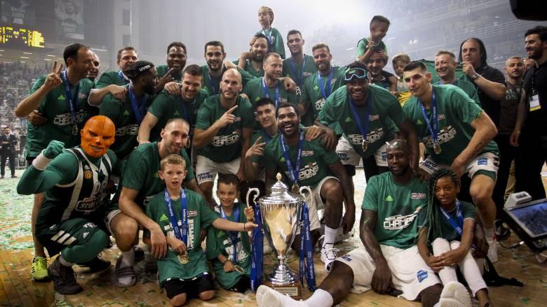 Παναθηναϊκός ΟΠΑΠ-Προμηθέας 111-77: Kαι πάλι «πράσινος» ο «θρόνος» του Πρωταθλήματος