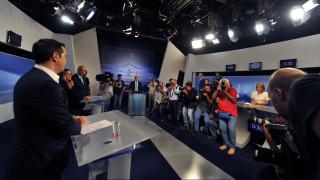 Στον αέρα το debate: «Τηλεοπτική» σύγκρουση ΣΥΡΙΖΑ - ΝΔ