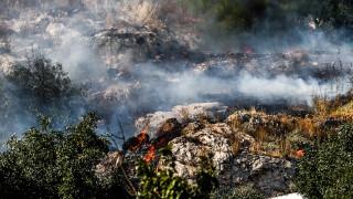 Δύο πυρκαγιές στη Λάρισα