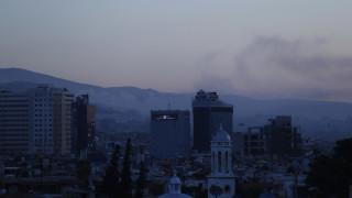 Ισχυρές εκρήξεις στη Δαμασκό