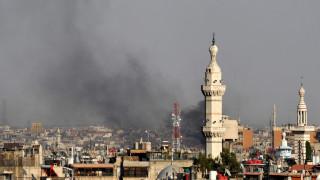 Συρία: 8 τραυματίες από την έκρηξη στην Δαμασκό (pics)