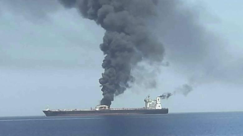 Ιράν: «Οι ΗΠΑ ευθύνονται για τις επιθέσεις στον κόλπο του Ομάν»