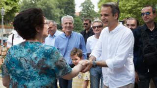 Μητσοτάκης: Στασιμότητα ή άλμα στο μέλλον, το δίλημμα των εκλογών