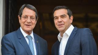 Τηλεφωνική επικοινωνία Τσίπρα - Αναστασιάδη για τις εξελίξεις στην Αν. Μεσόγειο