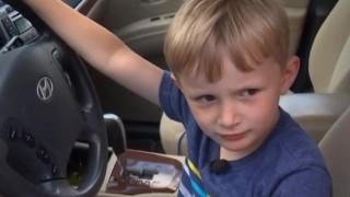 Τετράχρονος πήρε το αυτοκίνητο του παππού του και πήγε να πάρει σοκολάτες