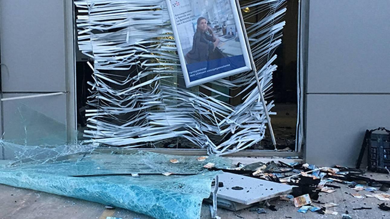 Γλυφάδα: Άγνωστοι ανατίναξαν ΑΤΜ και… «έβρεξε» λεφτά