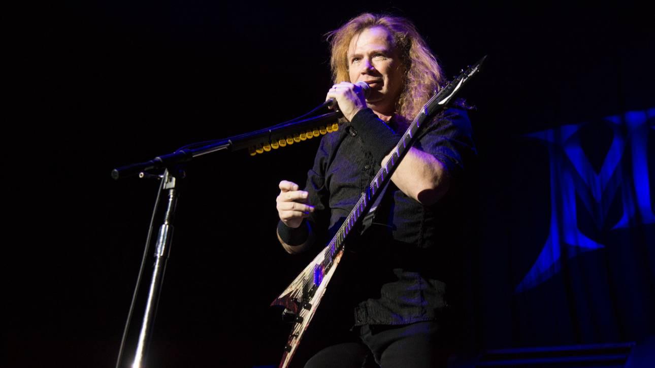 Ο τραγουδιστής των Megadeth, Ντέιβ Μαστέιν αποκάλυψε πως έχει καρκίνο