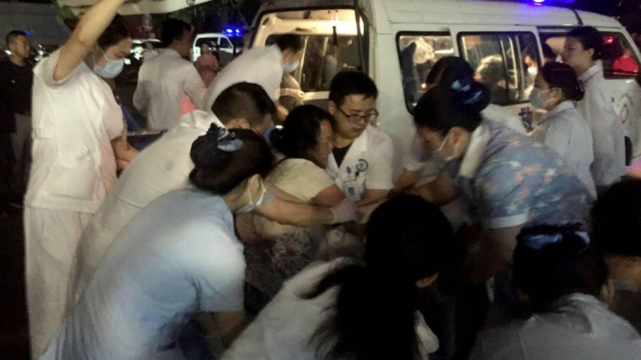 Ισχυρός σεισμός με 6 νεκρούς και 75 τραυματίες στην Κίνα