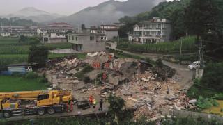 Αυξάνονται οι νεκροί και οι τραυματίες από τον ισχυρό σεισμό στην Κίνα