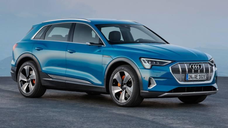 Με το Audi e-tron οδηγεί κανείς ήδη το μέλλον