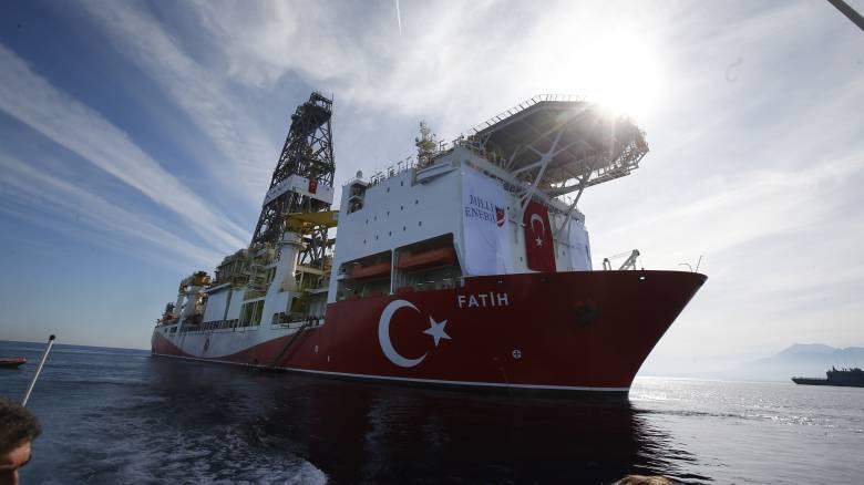 Τούρκος υπουργός Ενέργειας: Ξεκίνησε η γεώτρηση του «Πορθητή»