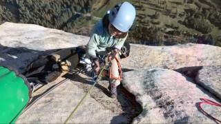 Σκαρφαλώνοντας σε ένα… όρθιο χιλιομετρο: Μία 10χρονη κατακτά το περίφημο Ελ Καπιτάν