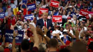 Ντόναλντ Τραμπ: Αρχίζω επίσημα την εκστρατεία μου για μία δεύτερη θητεία