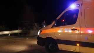 Κρήτη: Δύο άτομα εγκλωβίστηκαν στο αυτοκίνητο μετά από τροχαίο