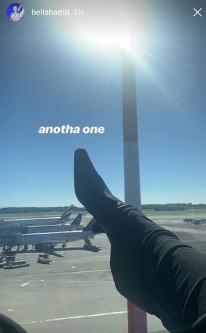 bella hadid shoe instagram