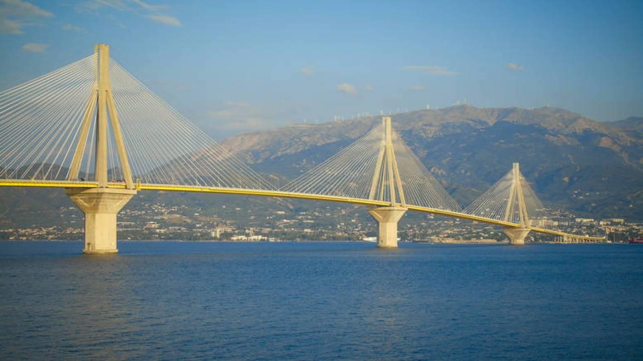 Ποδηλάτης έπεσε από τη γέφυρα Ρίου - Αντιρρίου