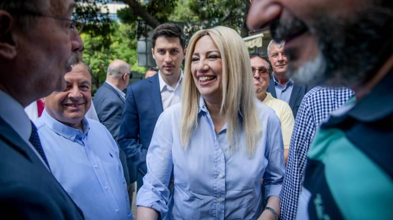 Εκλογές 2019: Σε Ηράκλειο, Εύβοια και Νότιο Τομέα της Β' Αθηνών υποψήφια η Φώφη Γεννηματά