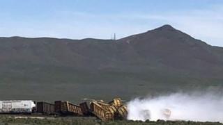 ΗΠΑ: Εκτροχιάστηκε τρένο που μετέφερε χειροβομβίδες, όπλα και επικίνδυνα υλικά