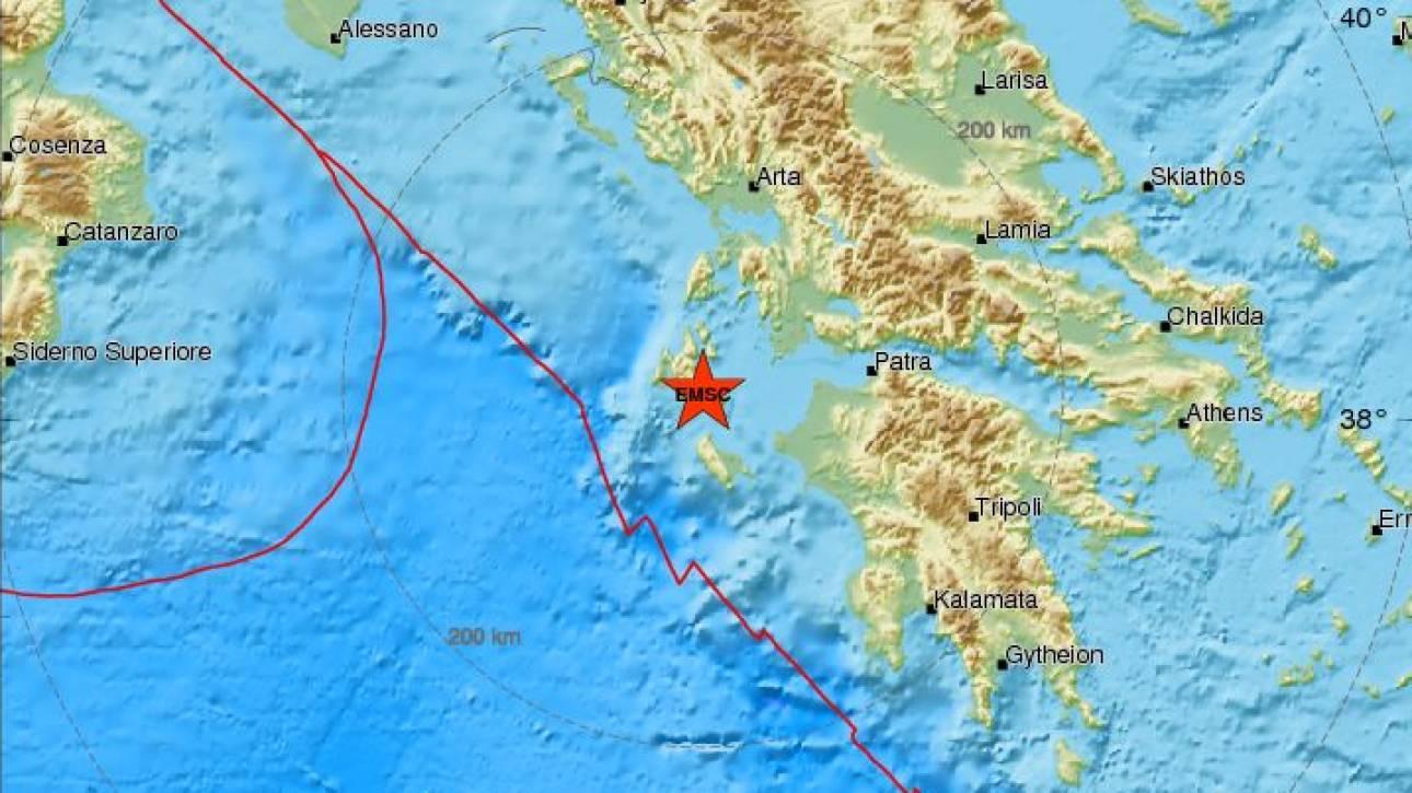 Σεισμός «ταρακούνησε» την Κεφαλονιά