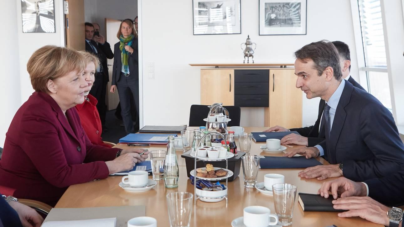 Θέμα Τουρκίας θα θέσει ο Μητσοτάκης στη σημερινή συνάντησή του με τη Μέρκελ