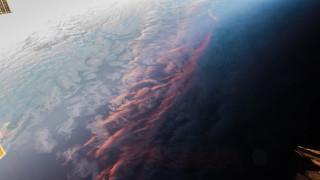 Το ηλιοβασίλεμα από το διάστημα: Μοναδικές εικόνες από το Διεθνή Διαστημικό Σταθμό