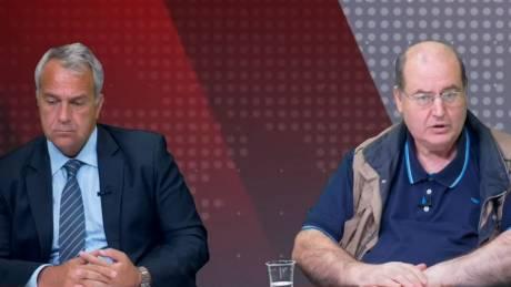 Αντιλογίες: Μ. Βορίδης και Ν. Φίλης στο στούντιο του CNN Greece