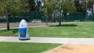 Ένας πραγματικός... Ρόμποκοπ περιπολεί τους δρόμους της Καλιφόρνια