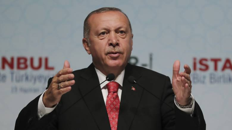 Ερντογάν: Το «Γιαβούζ» δείχνει την αποφασιστικότητα της Τουρκίας