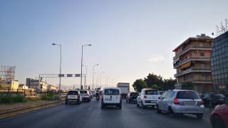 Μποτιλιάρισμα χιλιομέτρων στην Εθνική Οδό Αθηνών - Λαμίας