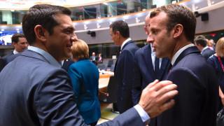 Σύνοδος Κορυφής: Οι διάλογοι Τσίπρα με Μακρόν και Μέρκελ για τις κυρώσεις στην Τουρκία