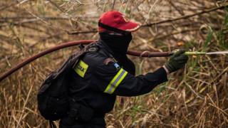 Ηράκλειο: Φωτιά απείλησε σπίτι και καλλιεργήσιμη έκταση