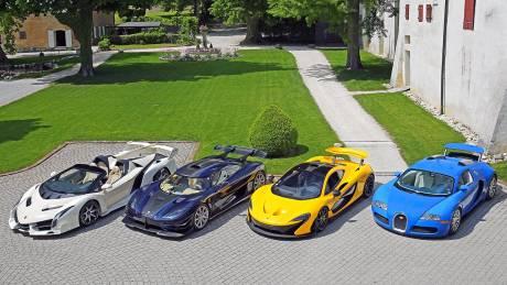 Πωλείται η απίστευτη συλλογή υπερ- αυτοκινήτων του κ. Θεόδωρου